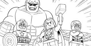 Lego Coloring Pages Printable Avengers Free Printable Lego City Lego Coloring Pages For Boys Free