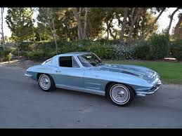 corvette stingray split window for sale sold 1963 silver blue split window coupe for sale by corvette mike