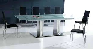 stainless steel top dining table uk marble glass round hammered