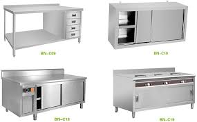 restaurant stainless steel kitchen cabinets top shelf simple