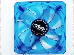 120mm asus blue case fan for sale in tallaght dublin from tech wizard