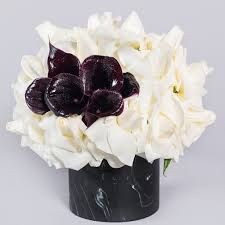 black roses delivery los angeles florist flower delivery by la premier