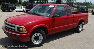 1996 chevrolet s10 ext cab pickup truck item k5937 sold
