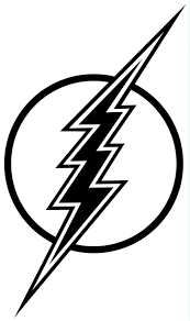 lightning bolt coloring pages free download clip art free clip