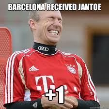 Robben Meme - barcelona received jantoe 1 robben meme 01 quickmeme