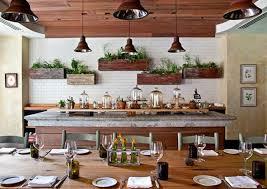 plante de cuisine design interieur plantes de cuisine etageres murales bois ilot
