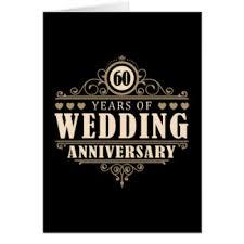 60th Wedding Anniversary Greetings Happy 60th Wedding Anniversary Cards U0026 Invitations Zazzle Co Nz