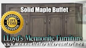 maple buffet solid maple mennonite buffet mennonite furniture