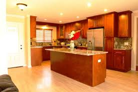 kitchen kitchen color ideas with cherry cabinets powder room