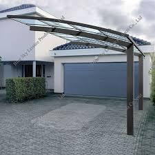 wind resistance polycarbonate aluminum carport pricing view