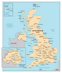 English Channel Map Map Of United Kingdom England With Cities Jpg