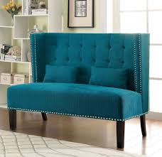 Modern High Back Wing Chair Amora Collection