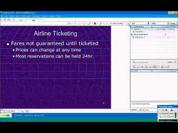 Travel agent training video airfares and consolidators pulaski