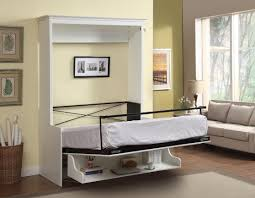 wall beds with desk gabriella full murphy bed with desk white 2 199 99