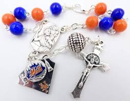 catholic rosary team auto rosary new york mets catholic rosary