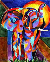 elephant painting elephant dream by sherry shipley