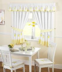 Yellow Kitchen Curtains Furniture Home Solid Banana Window Valance Balloon Style Large