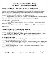 8 doctor appointment letter template free samples