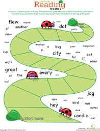 reading roundup find the nouns 1 second grade worksheets and