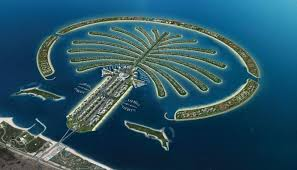 palm tree islands uae pictures reference