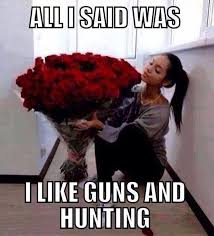 Buy All The Stuff Meme - so true he knows not to buy me flowers when he screws up i want