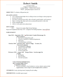Part Time Jobs Resume by 6 Job Resume Sample For Students Basic Job Appication Letter