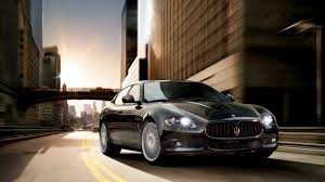 black maserati cars gorgeous maserati quattroporte black car on road wallpaper