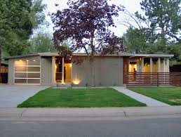 Ranch Style House Exterior Someday I Want A Fifties Modern Ranch Style House Like The