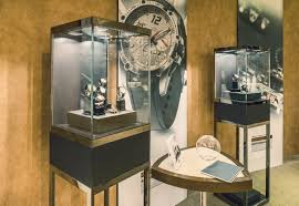 shop in shop interior axis create high end bespoke watch display in lakeside