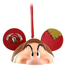 your wdw store disney ears ornament grumpy limited edition