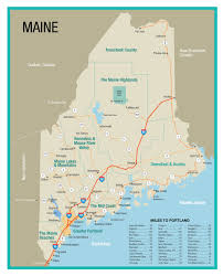 Portland Brewery Map by Maine State Map Explore The Greater Portland Area Travel