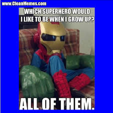 Superhero Memes - which superhero clean memes the best the most online