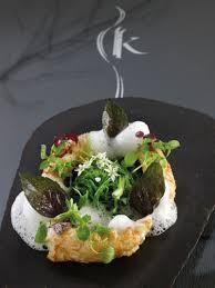 recette de cuisine salé langoustines des côtes bretonnes enokis de thaïlande à la