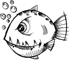 fish coloring pages print monster fish coloring pages monster fish coloring pages u2013 color luna