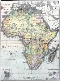Political Map Africa by Large Detailed Old Political Map Of Africa Africa Mapsland
