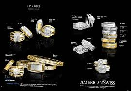 american swiss wedding rings specials for woman rings at american swiss