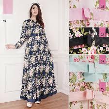Grosir Gamis Zoya Murah model baju gamis edisi terbaru lebaran 2017 2018 muslim distro