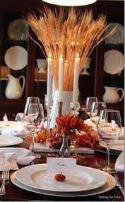 beautiful fall table setting for thanksgiving from rooms