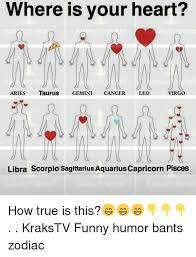 Funny Virgo Memes - where is your heart aries taurus gemini cancer leo virgo libra