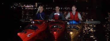 kayak lights for night paddling city lights night paddle kayak chicago