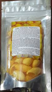 cuisine cocoon ร งไหม สคร บข ดหน า ไม เคล อบสบ silk cocoon nature 50 pcs