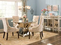 raymour and flanigan dining room sets mirage 5 pc 48 glass dining set dining sets raymour and