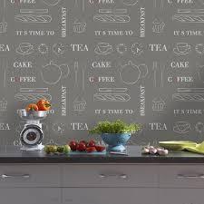 papier peint lutece cuisine papier peint cuisine 20 exemples déco pour l adopter