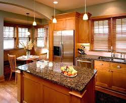 kitchen oak cabinets paint color new countertop honey cabinet