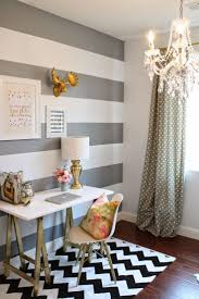 Black And White Bedroom With Color Accents Best 25 Striped Accent Walls Ideas On Pinterest Striped Walls