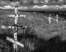 russian orthodox crosses kodiak alaska russian orthodox crosses photograph black and white