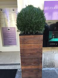 Planters Diy by Vive La France Build A Tall Wooden Planter Wooden Planters