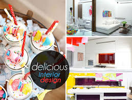 Color Interior Design Delicious Interior Design Featuring Candy Colors And Bold Shapes