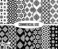 black and white wrapping paper digital paper black and white digital scrapbook paper wrapping