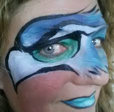seahawks superbowl face paint face art pinterest seahawks